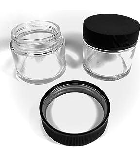 Amazon com: Glass Quarter Ounce Cannabis Jar - Air Tight and