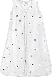 Aden + Anais  1.0 TOG sleeping bag, 100% cotton muslin, Twinkle, +18m