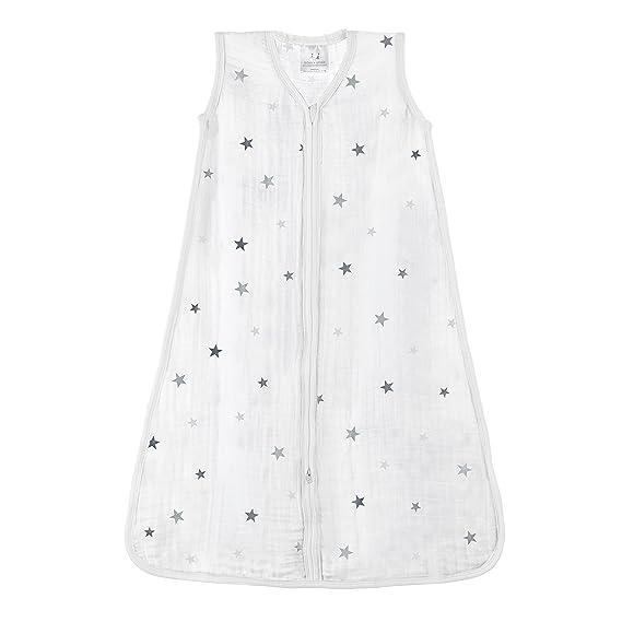 aden + anais 8073G - Saco de dormir clásico, prelavado y fabricado con muselina de 100% algodón: Amazon.es: Bebé
