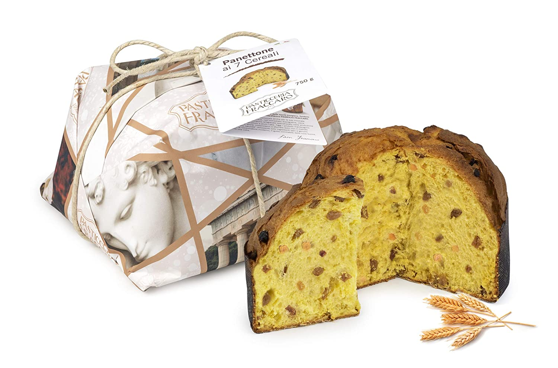 Panettone artesanal suave gusto 7 cereales FRACCARO ...