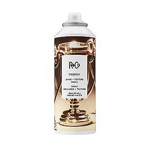 R+Co Trophy Shine + Texture Spray