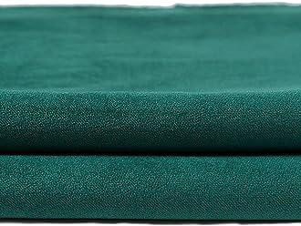 McAlister Matt Velvet 8x4 Fabric Sample Swatch | Emerald Pine Green