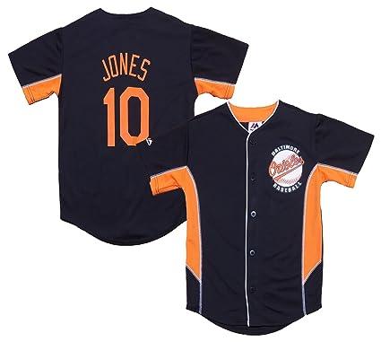 innovative design aae02 25239 Amazon.com: Adam Jones Baltimore Orioles Black Kids Team ...