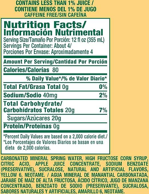 Peñafiel Manzanita Mineral Spring Water, 1.5 L bottles (Pack of 12): Amazon.com: Grocery & Gourmet Food
