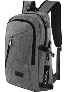 Amazon.com: KINGSLONG Protective Business Laptop Backpack Rucksack ...