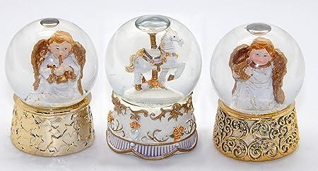 20012 Bola de nieve navidad ángel c medida 85 mm: Amazon.es: Hogar