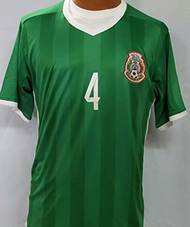 New Mexico National Team Rafael Marquez Home Green Replica Jersey Adult Large