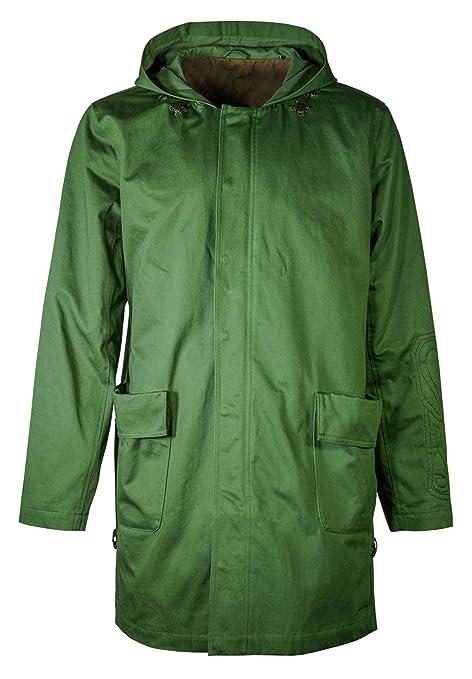 Musterbrand Zelda Chaqueta Hombre Link Voyage Unisex Long Jacket Parka Trench-Coat Verde: Amazon.es: Ropa y accesorios