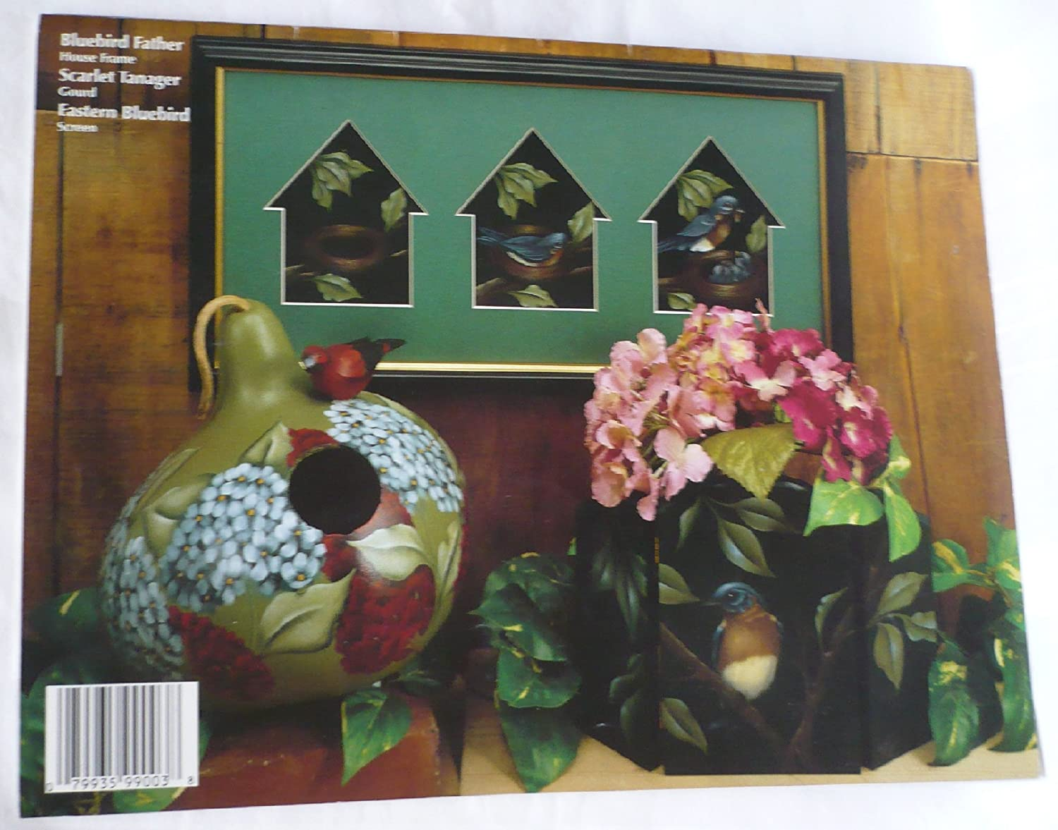 Birds in All Their Glory Tole Painting Book Nancy Dale Kinney
