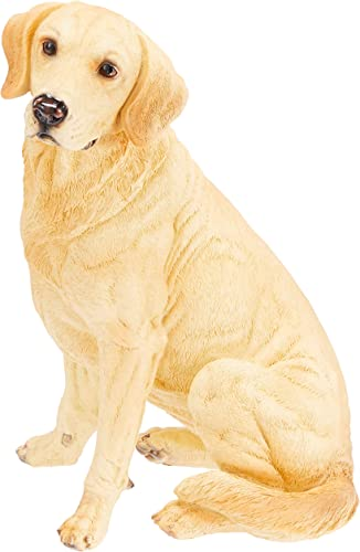Design Toscano Golden Labrador Retriever Dog Garden Statue