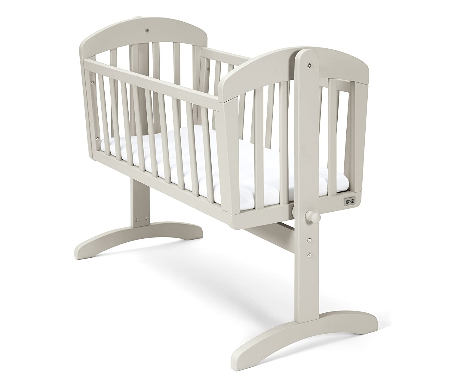 Mamas & Papas Breeze Crib White, Nursery Furniture CRBZ02700
