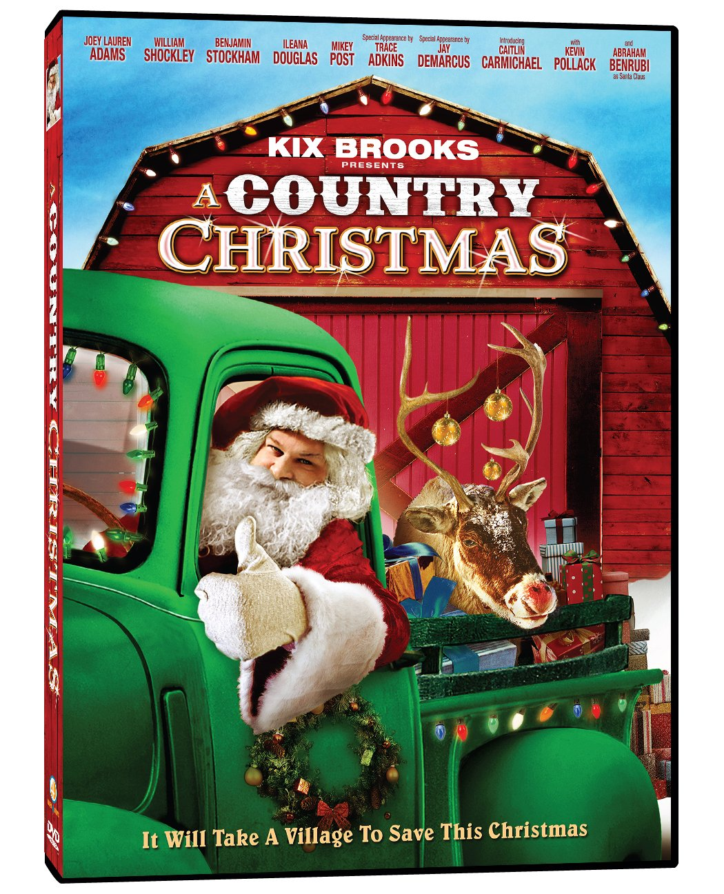 amazoncom a country christmas joey lauren adams trace adkins kevin pollak illeana douglas dustin rikert movies tv - Country Christmas Movie