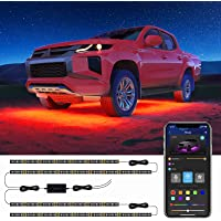 Govee Exterior Car Lights with App Control, 2 Lines Design Under LED Lights for Car with 16 Million Colors, 7 Scene…