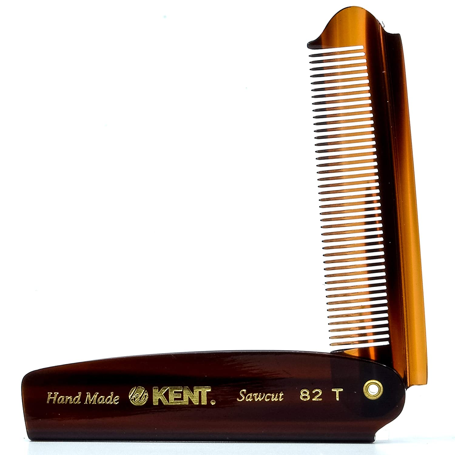 Kent 82T Handmade Fine Tooth Saw-Cut Folding Pocket Comb Review
