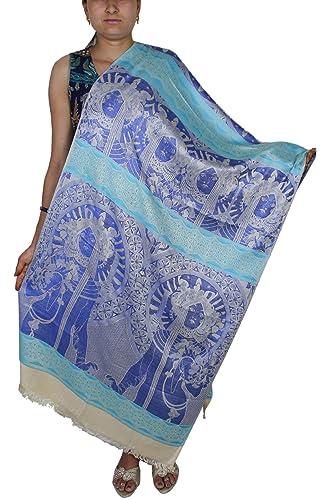Modello lungo dio indiano ha rubato - moda accessorio handmade sciarpa per regalo natale - 214x76 cm