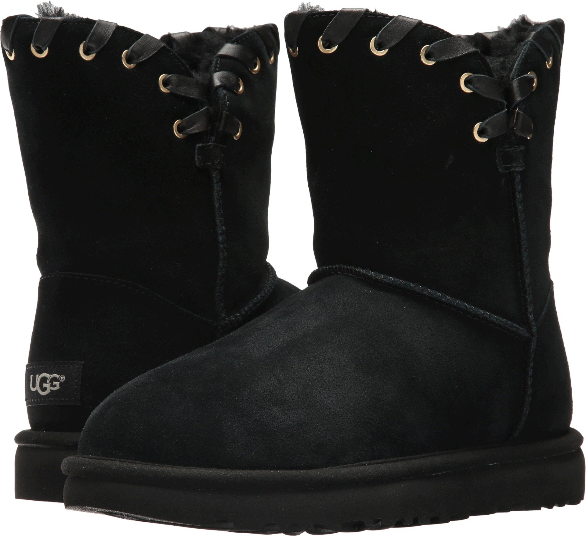 UGG Women's Aidah Winter Boot, Black, 8 M US