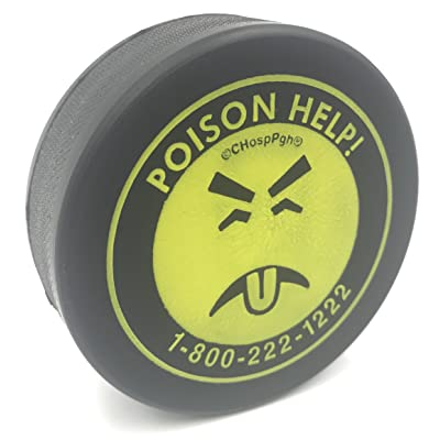 Mr. Yuk Stress Ball Puck: Toys & Games