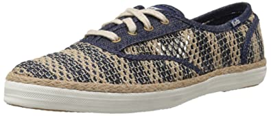 3da8226836a Keds Women s Champion Crochet Fashion Sneaker