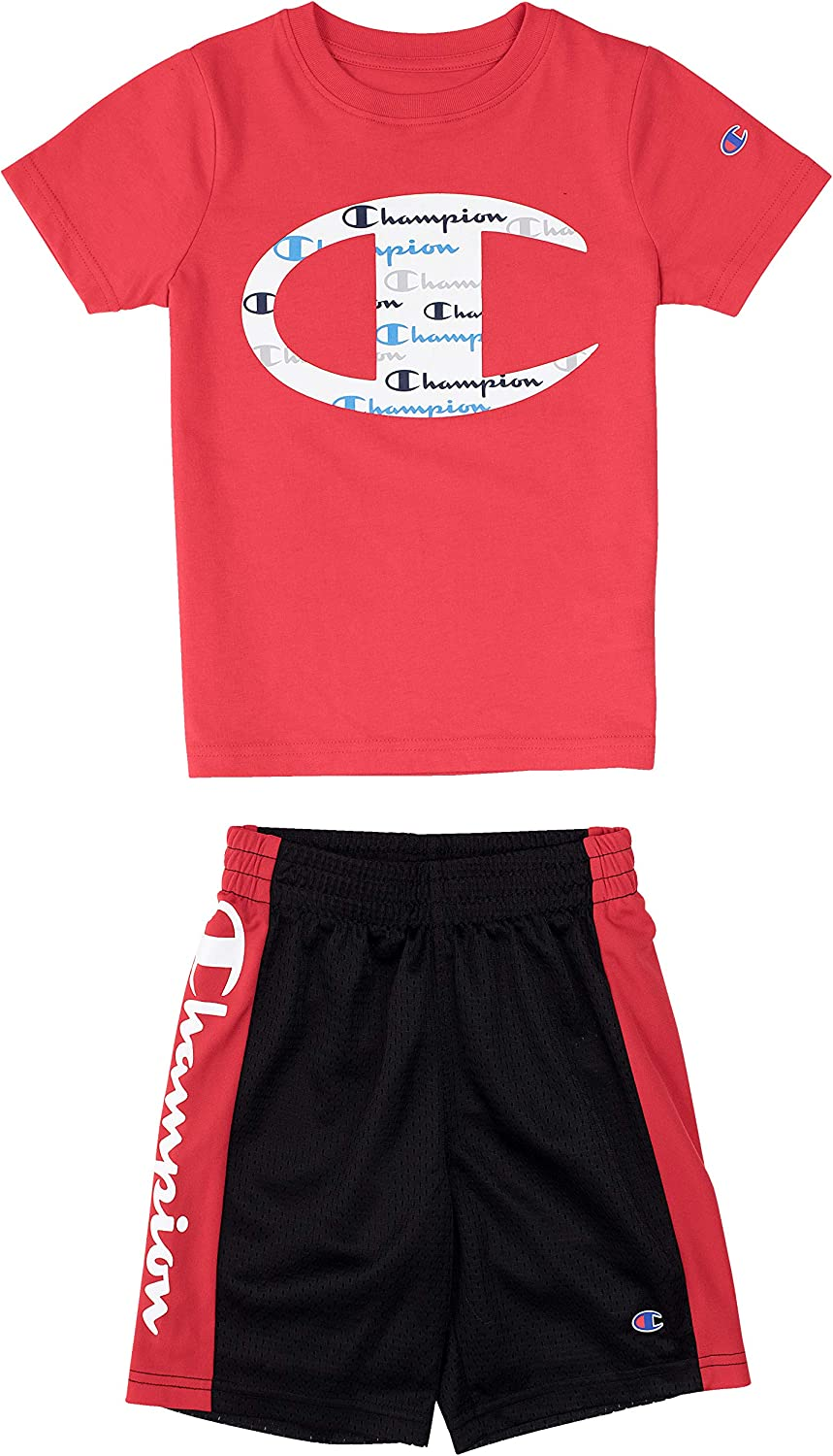 Champion Little Boys 2-7 Short Sets Mesh and French Terry...