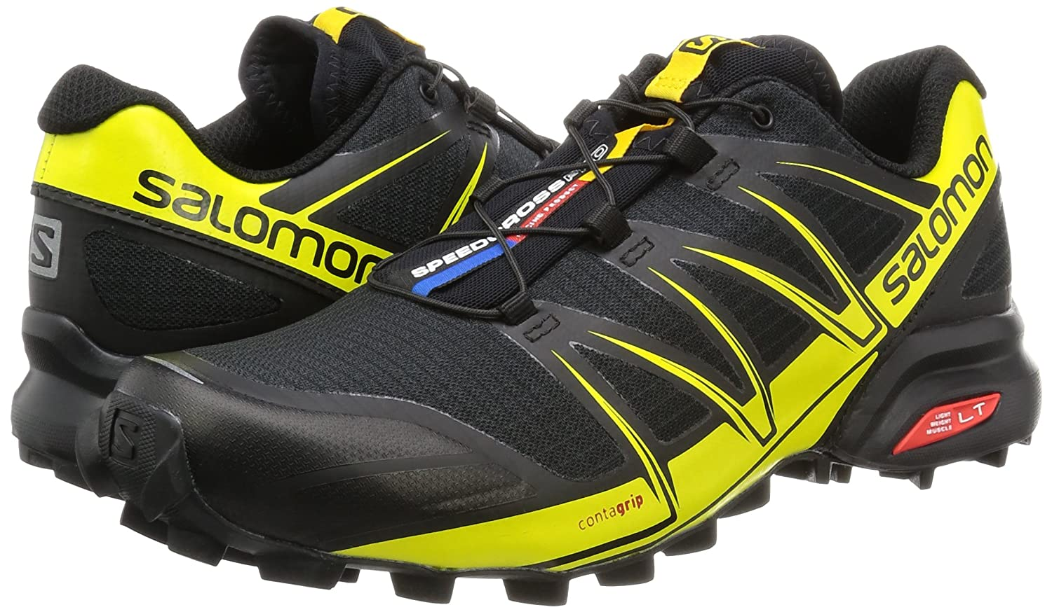 SALOMON Men's L38312200 Trail Running Shoes