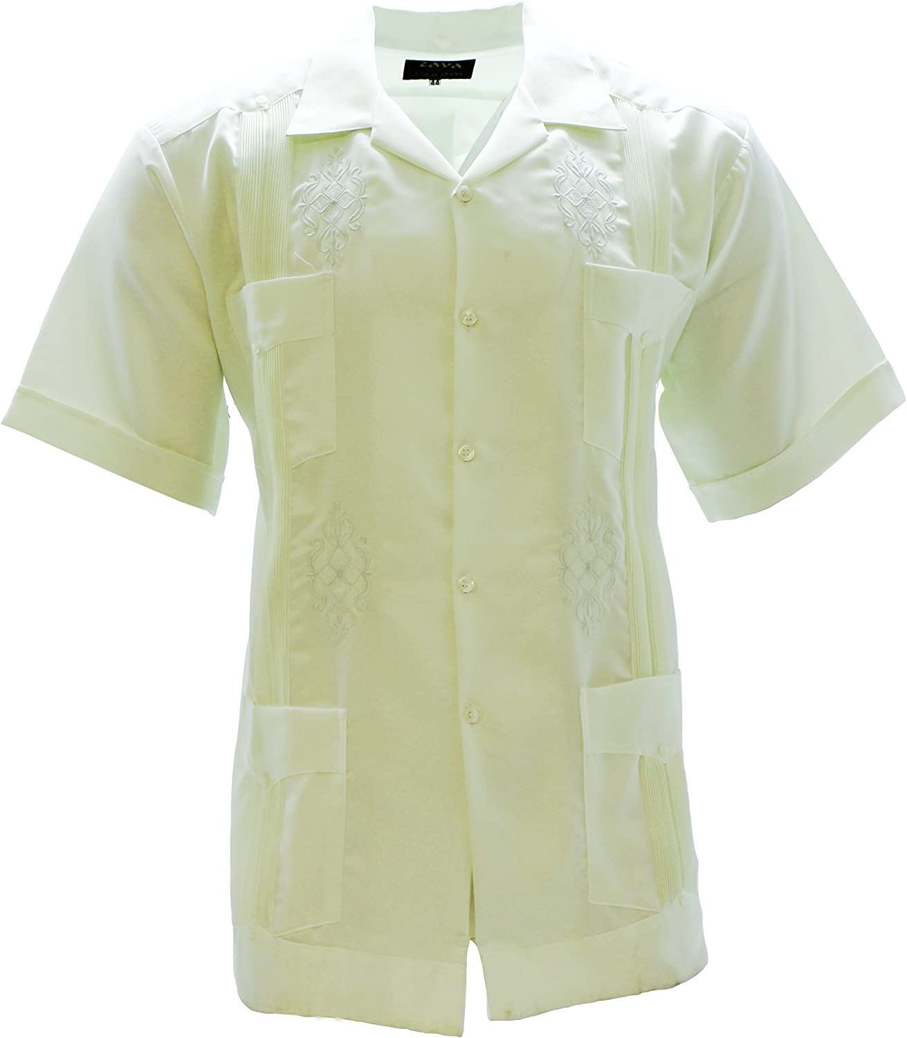 Authentic Guayabera Yucateca Copacabana Classica For Kids Color Light Brown