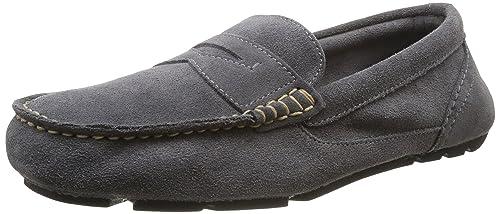 Rockport Classflash Penny - Mocasines de cuero hombre, Castlerock, 42: Amazon.es: Zapatos y complementos