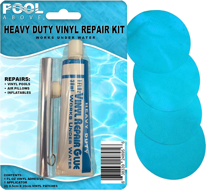 Aqua vinilo Kit de reparación parche pegamento para Intex Jump-o ...