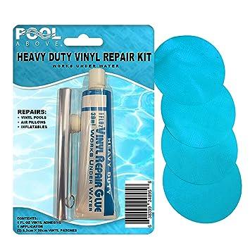 Aqua vinilo Kit de reparación parche pegamento para Intex ...