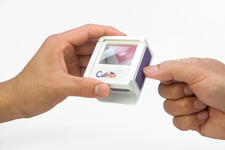 Amazon.com : CUTHUT, THE ULTIMATE NAIL CATCHER, WHITE, : Beauty