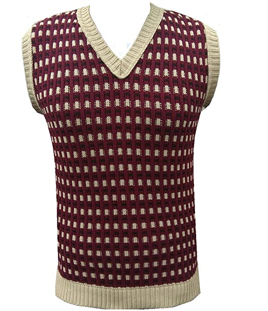 1930s Mens Fashion Guide- What Did Men Wear? London Knitwear Gallery Retro Vintage Knitwear Tanktop Sleeveless Golf Sweater £16.99 AT vintagedancer.com