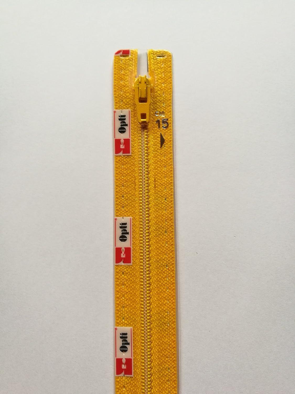 15cm x 3cm x 1cm Opti Cierres De Cremallera S40 FLA No Divisible Fulda 300