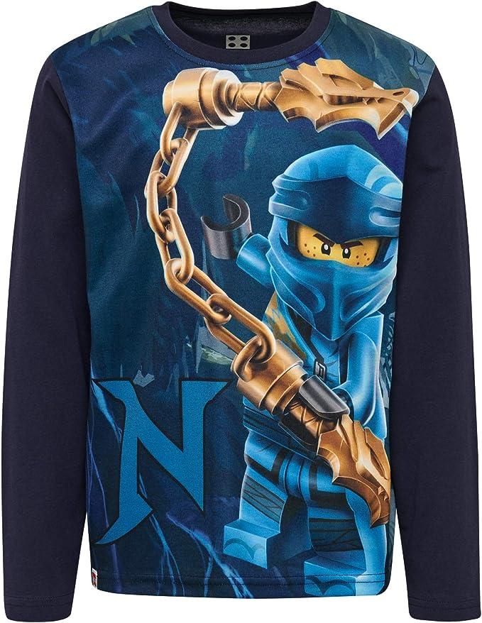 Lego Wear Boys Lego Ninjago cm D Longsleeve T-Shirt