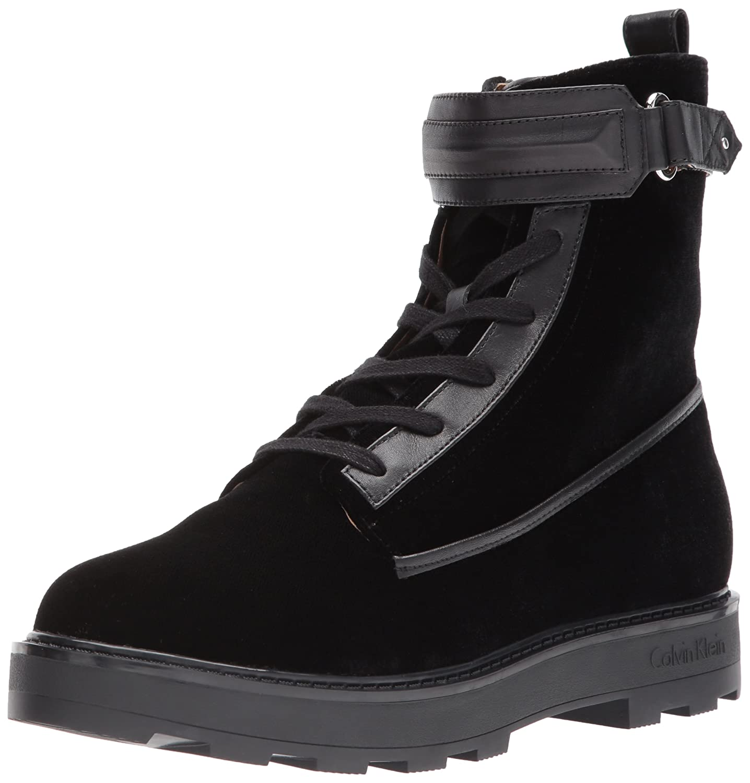 Calvin Klein Women's Vanora Combat Boot B07211PJBC 5.5 B(M) US|Black