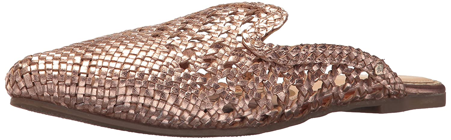 Sam Edelman Women's Navya Mule B076TBB6H3 7.5 B(M) US|Rose Gold/Metallic Leather