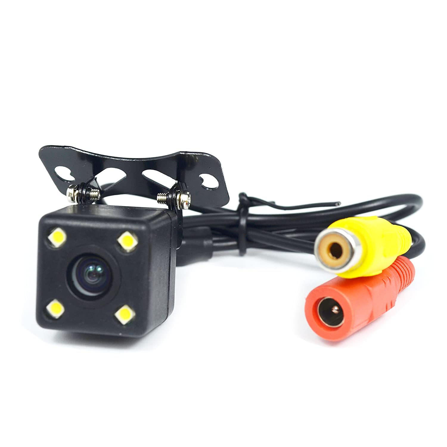 18LED KASIONVI Rear View Backup Camera for Car Truck Lorry Pickup Bus Vehicle Caravans- Waterproof 35V Wide Voltage Night Vision DC 9V