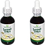 SweetLeaf Sweet Drops rbHBXZ Liquid Stevia Sweetener, Vanilla Creme, 2 Ounce (Pack of 2)