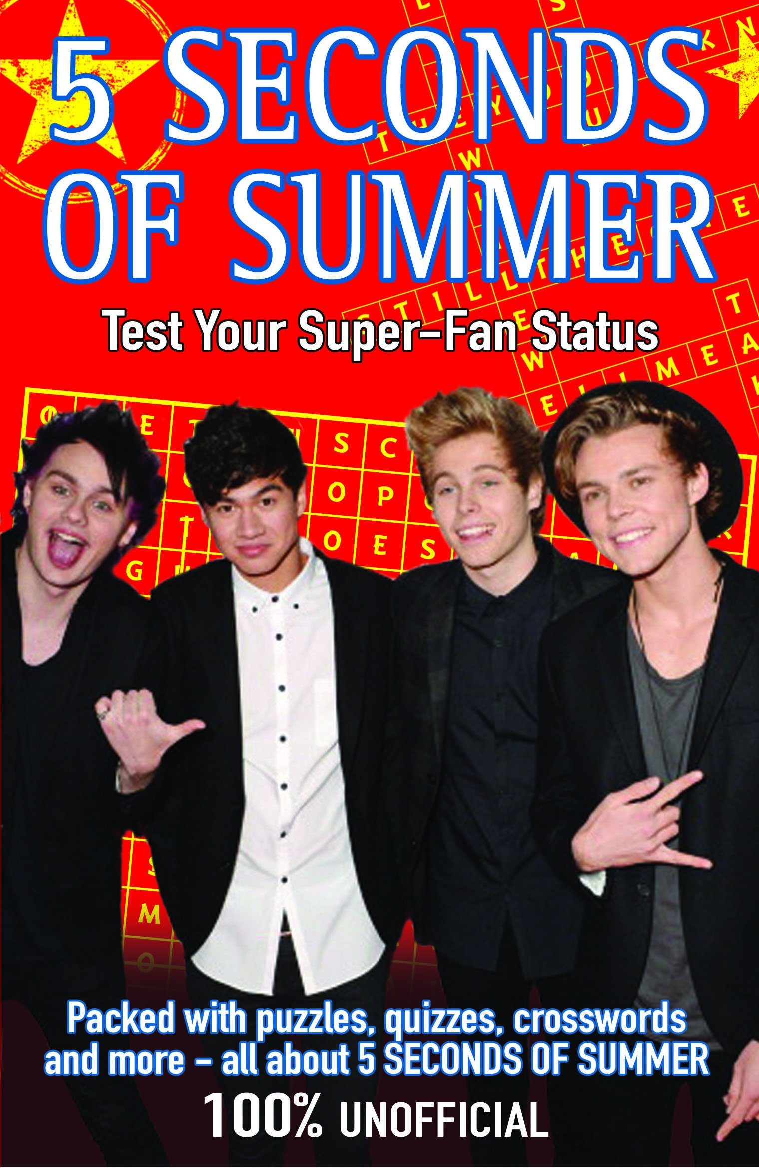 5 Seconds of Summer: Test Your Super-fan Status (Buster Books)