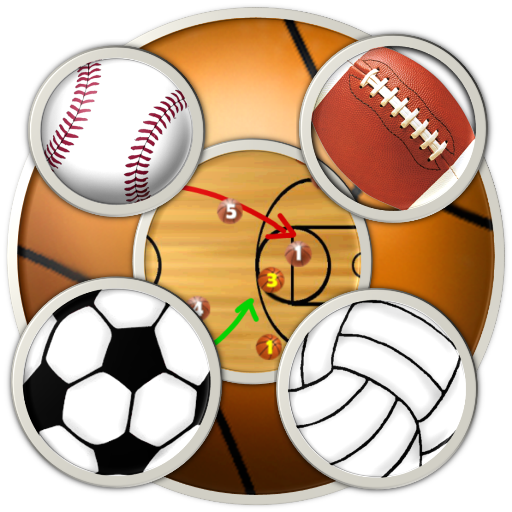 6 Sports Clipboards & Scoreboard (basketball, football, baseball, soccer, volleyball, ice hockey) for Kindle, Tablet, & Phone (Score Boards Nfl)