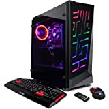 CYBERPOWERPC Gamer Xtreme GXi10862OPT Gaming PC (Intel i5+ 8400 2.8GHz CPU, 8GB DDR4, NVIDIA GeForce GTX 1050 Ti 4GB, 1TB HDD, 16GB Intel Optane, WiFi & Win10 Home) Blk