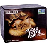 Sugar In The Raw, 500 Packets 4 LBS,15.4 Ounces