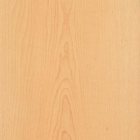 Maple White Flat Cut 24x96 10 Mil Paperback Wood Veneer Sheet