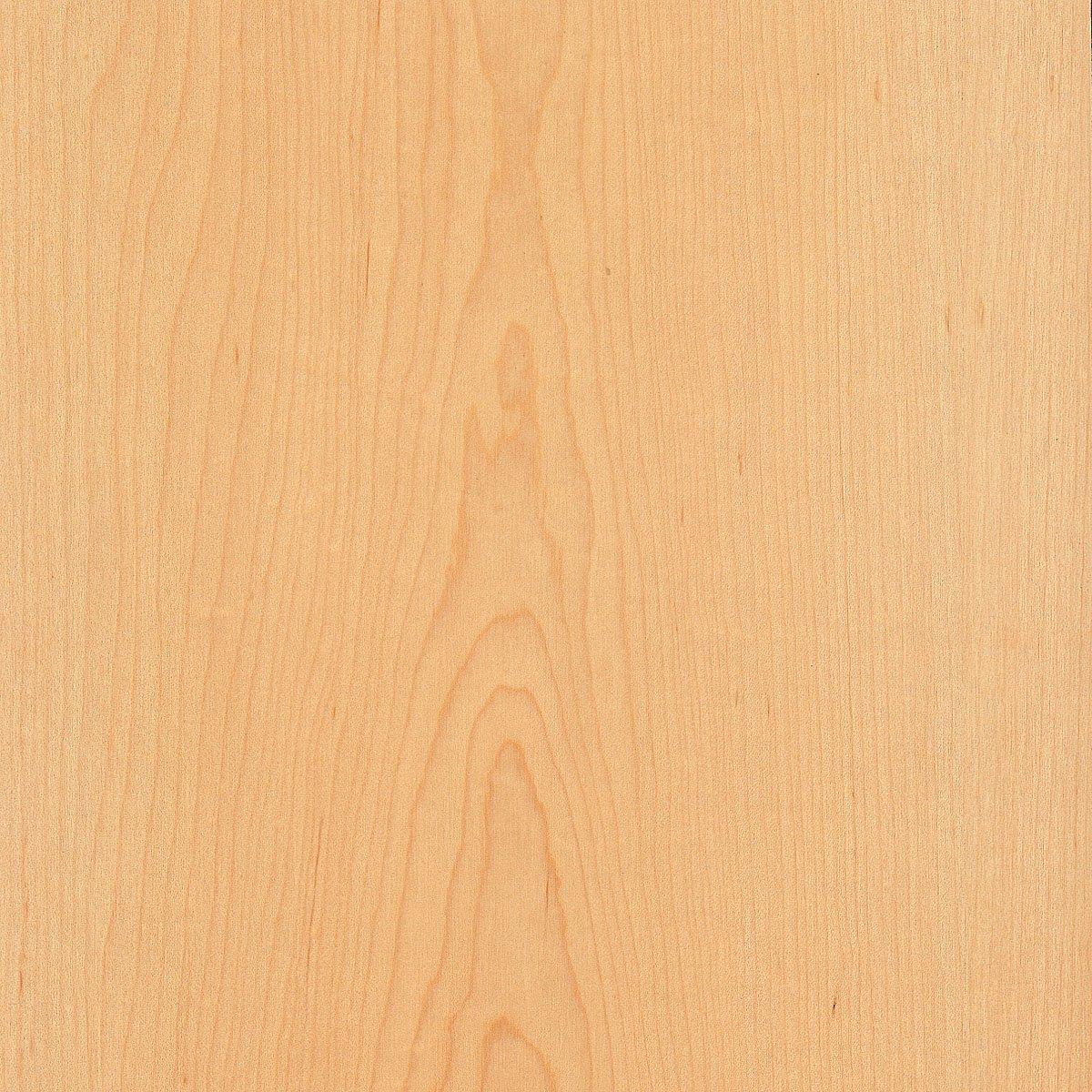 Maple Wood Veneer Plain Sliced 2'x8' PSA 9505(Peel and Stick) Natural Finish Sheet