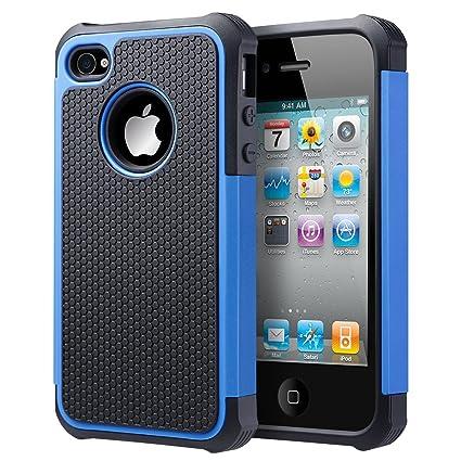 Amazon.com: Funda para iPhone 4, iPhone 4S Caso, uarmor ...