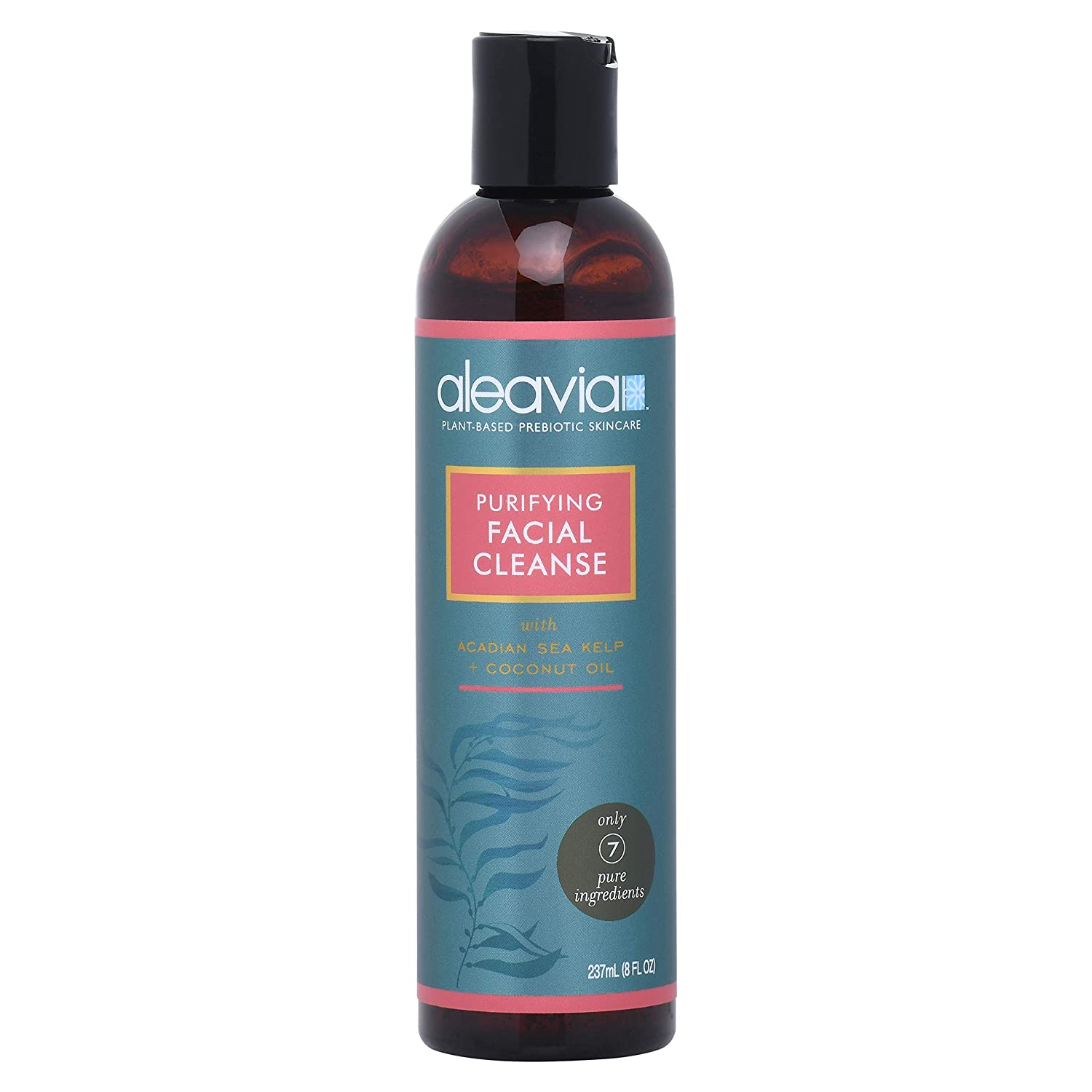 Purifying Organic Facial Cleanser   Aleavia Presents The Leading Facial Wash Treatment Made With Aloe Vera To Prevent Acne & Oily Skin   Exfoliate & H