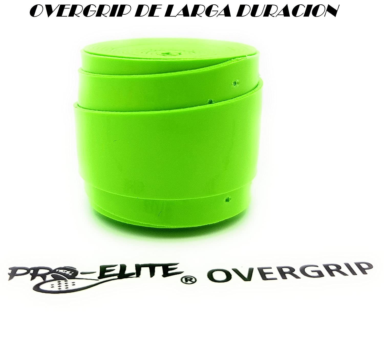 overgrip Pro Elite Premium Perforado Verde Flúor: Amazon.es ...