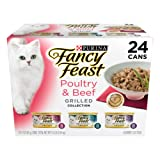 Purina Fancy Feast Grilled Gourmet Variety Pack Wet Cat Food - (24) 3 oz. Cans