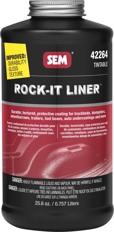 SEM 42264 Rock-It Liner Tintable Quart Undercoating by SEM (Image #1)