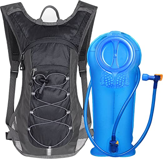 Amazon.com : Unigear Hydration Pack Backpack with 70 oz 2L Water Bladder for Running, Hiking, Cycling, Climbing, Camping, Biking (Black) : Clothing