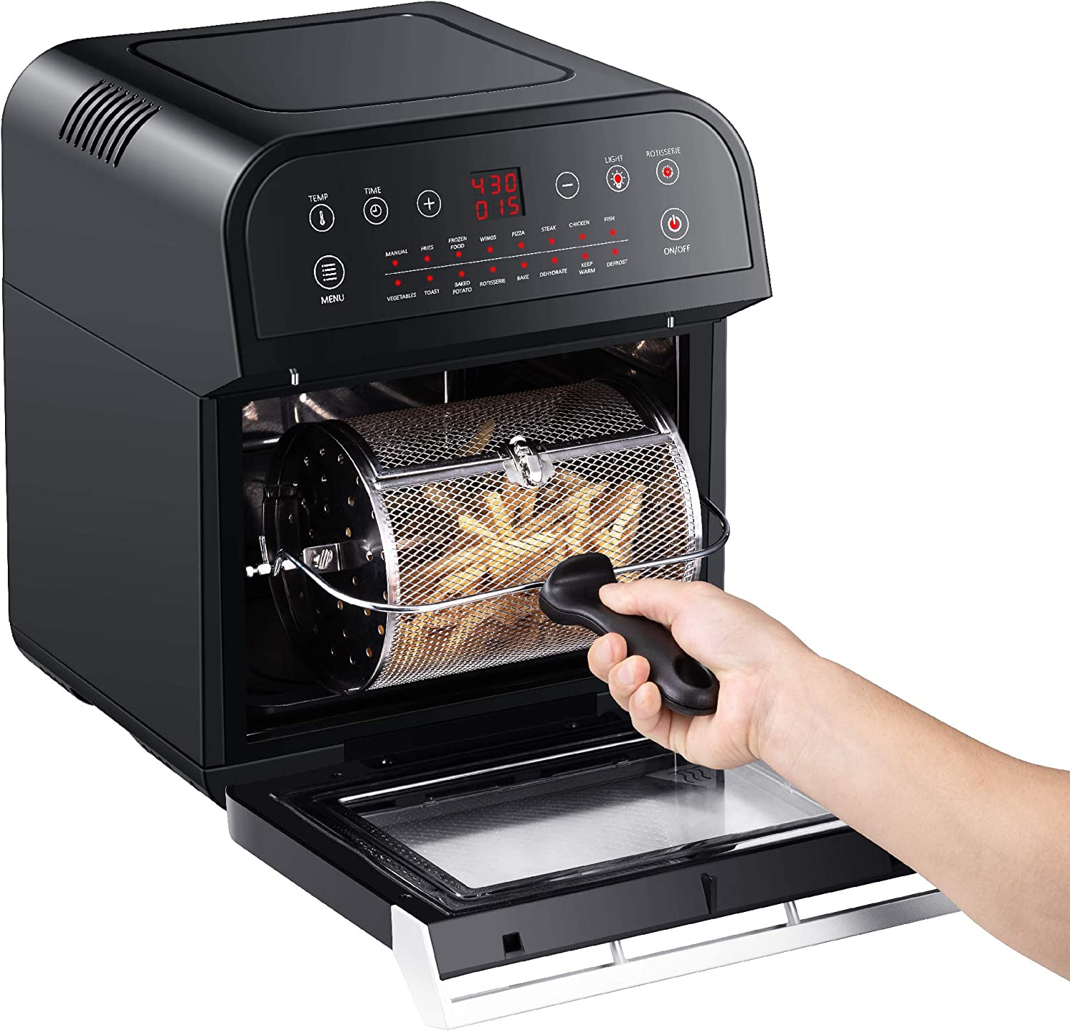 GoWISE USA GW44800-O Deluxe 12.7-Quarts 15-in-1 Air Fryer