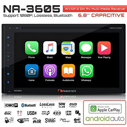 NAKAMICHI NA3605 Double-Din In-Dash 6 8